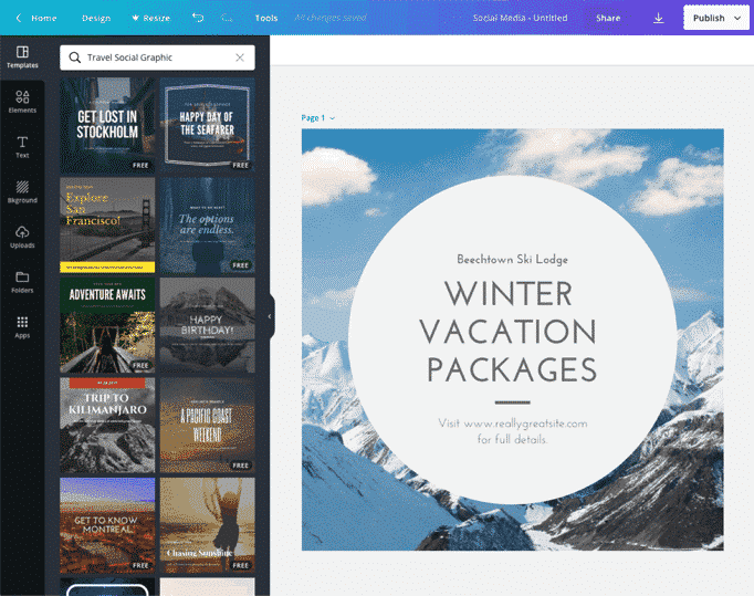 Canva Free software