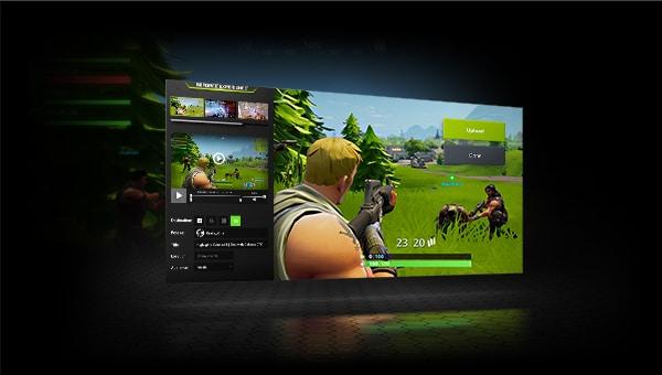Nvidia Shadowplay software