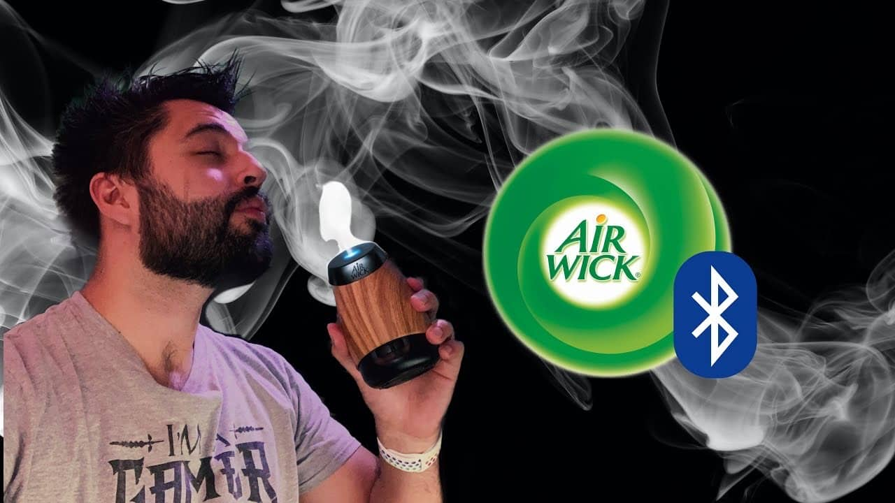 Air Wick Mist (Air Freshener) Diffuser Aroma Instructions How to Use Bluetooth - First Impressions