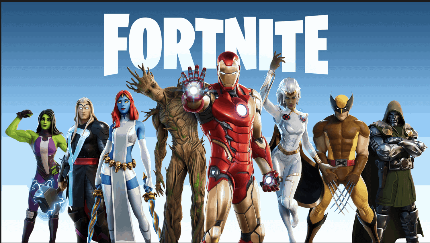 Fortnite, Iron Man, Marvel, Season 4