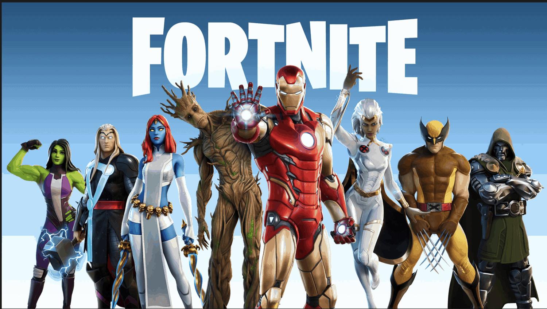 Fortnite, Iron Man, Marvel, Season 4