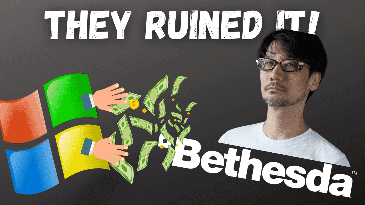 Microsoft bought Bethesda - Will Kojima Come Back?