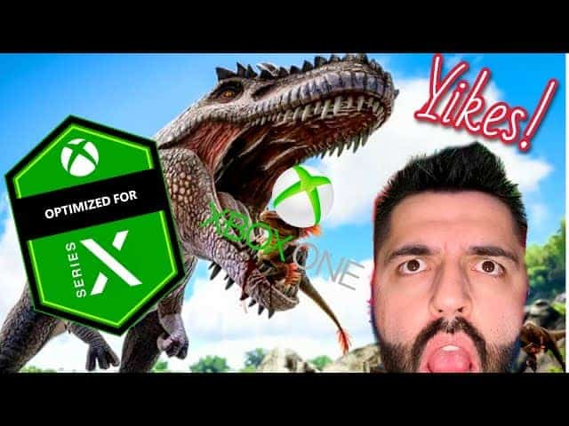 Ark Survival Evolved Xbox Series X VS Xbox One X Gameplay Loading Performance is FAST! 60 FPS 4K