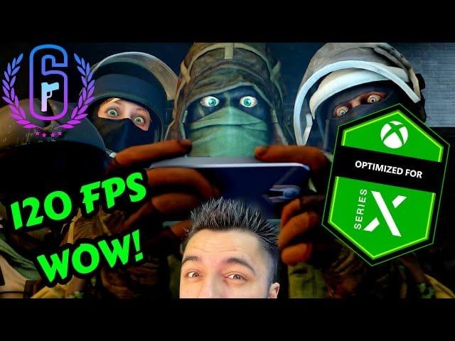 Rainbow Six Siege Xbox Series X 120FPS Gameplay is Worth The Price! - Comparison Xbox One X