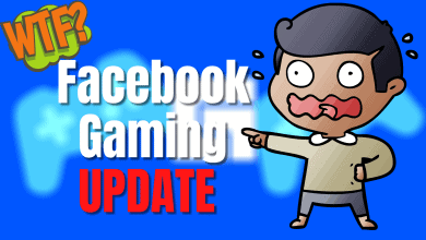 Facebook gaming update