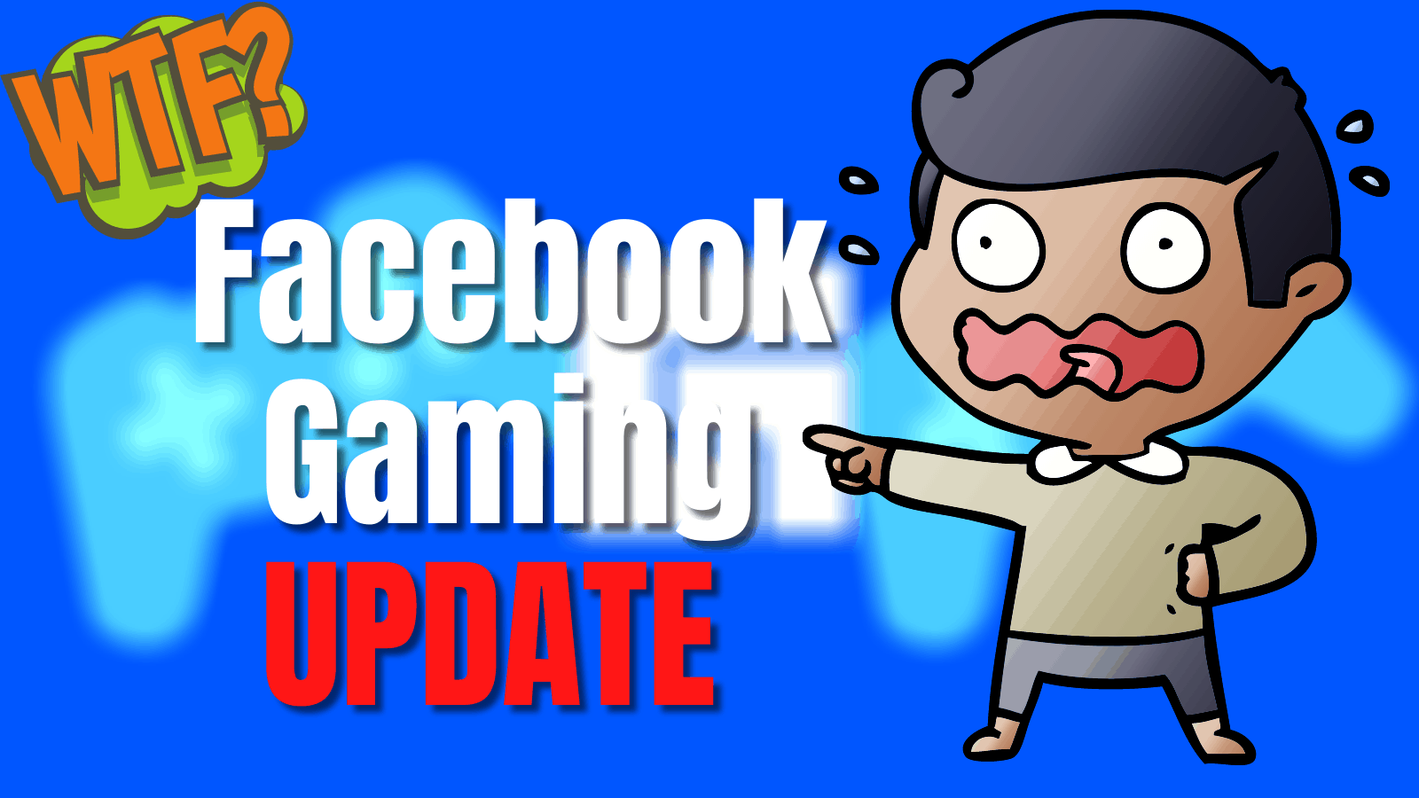 Facebook gaming update