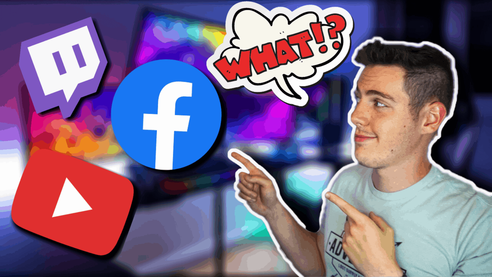How to Stream to YouTube & Twitch & Facebook Gaming