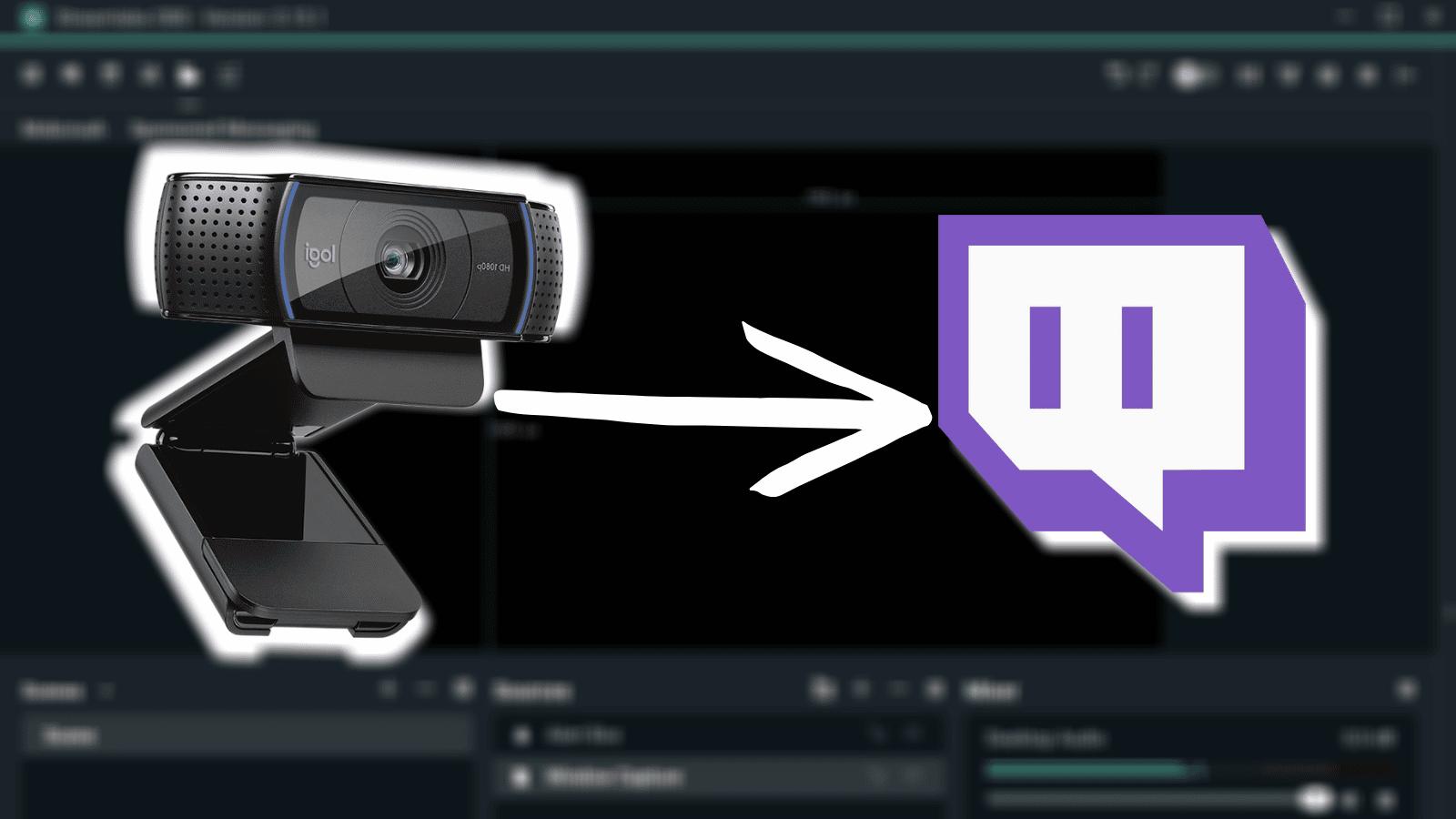 set up your webcam