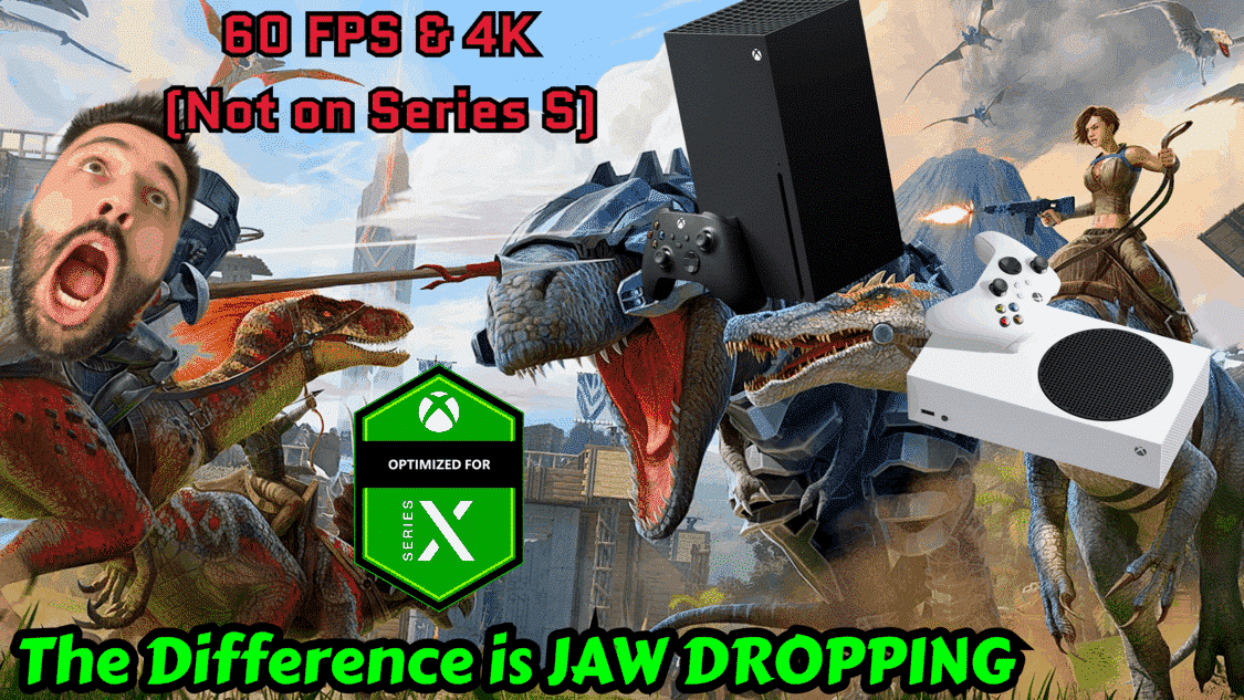 ARK Survival Evolved Xbox Console update Xbox One Update 60 fps Series X|S