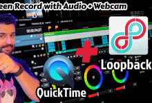 how to use QuickTime player capture video from screen mac