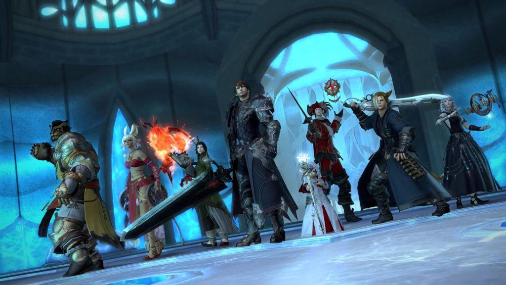 final fantasy xiv online line up