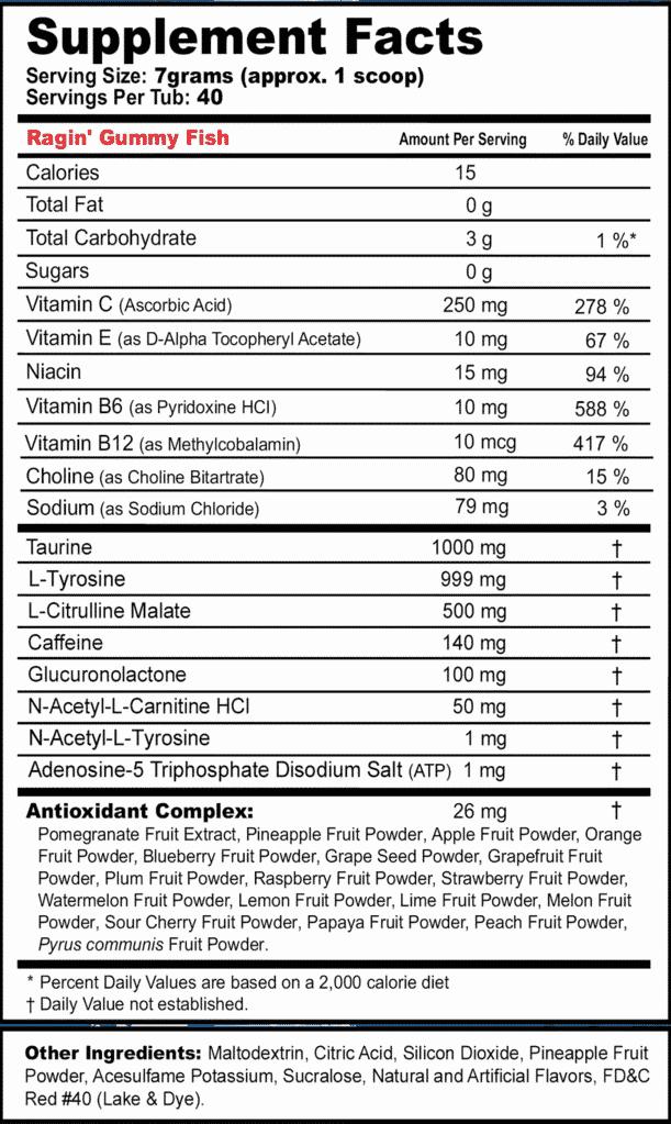 gfuel new formula