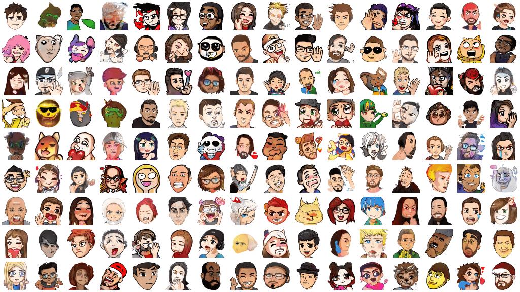 Twitch emoticons