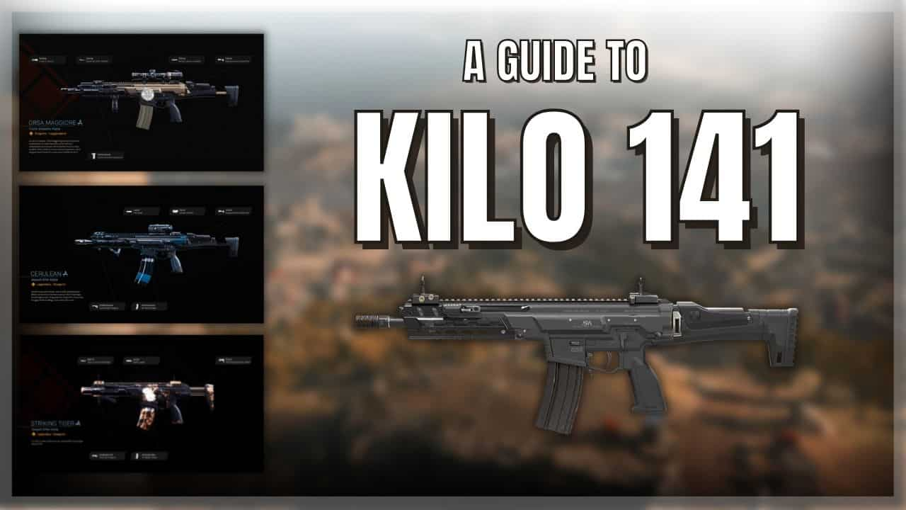 Is Warzone's Kilo 141 Epic? Brilliant new guide!