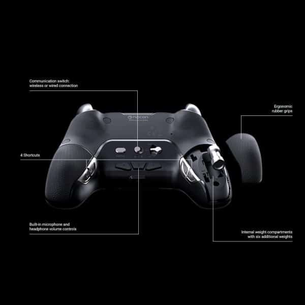 NACON Controller Esports Revolution Unlimited Pro V3 PS4 Playstation 4 / PC - Wireless/Wired - Nacon-311608