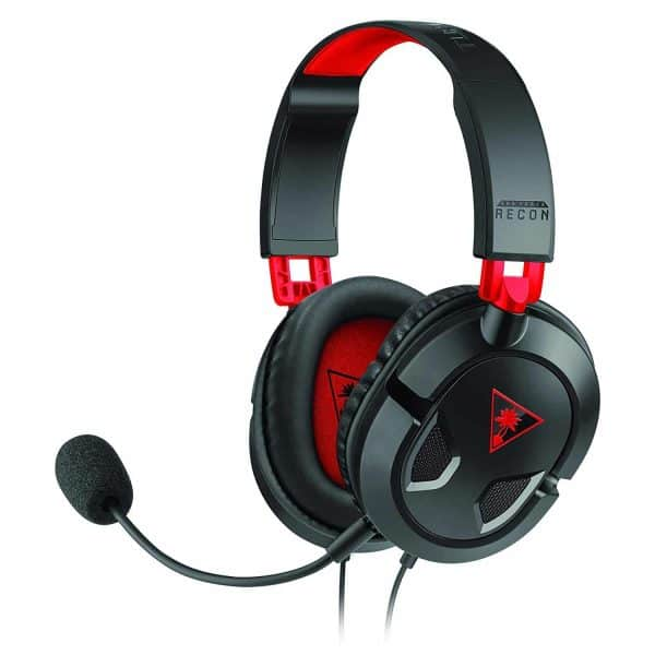 Turtle Beach Ear Force Recon 50 Gaming Headset for PlayStation 4, Xbox One, & PC/Mac