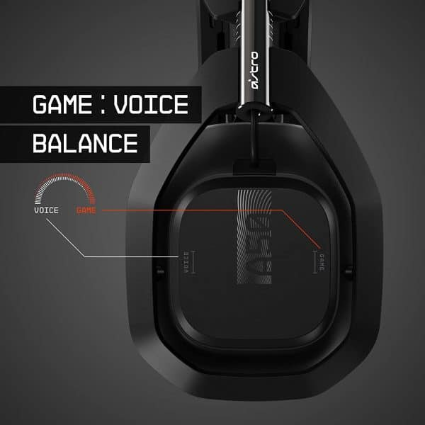 ASTRO Gaming A50 Wireless Headset + Base Station Gen 4 - Compatible With PS5, PS4, PC, Mac - Black/Silver